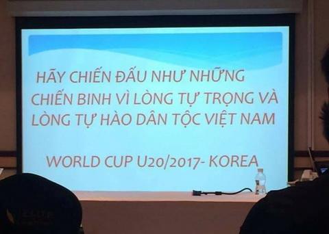 HLV U19 Viet Nam da gui gam thong diep gi cho cac hoc tro truoc tran gap Bahrain hinh anh 2