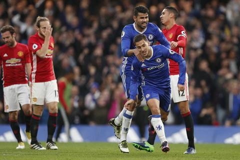 Khi the tung bung ma Chelsea tao ra trai han voi bo mat u am ma doi khach the hien. Anh: Reuters.