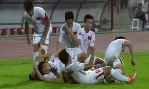 Clip ban thang U19 Viet Nam vs 1-0 U19 Bahrain Tu ket U19 Chau A hinh anh