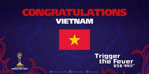 FIFA va AFC chuc mung chien tich lich su cua U19 Viet Nam hinh anh
