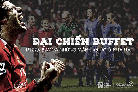 Hoi uc Old Trafford Man United, Arsenal va bi an pizzagate hinh anh