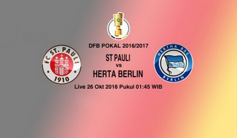 Nhan dinh StPauli vs Hertha Berlin 01h45 ngay 2610 (Cup QG Duc 201617) hinh anh