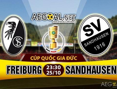 Nhan dinh Freiburg vs Sandhausen 23h30 ngay 2510 (Cup QG Duc 201617) hinh anh