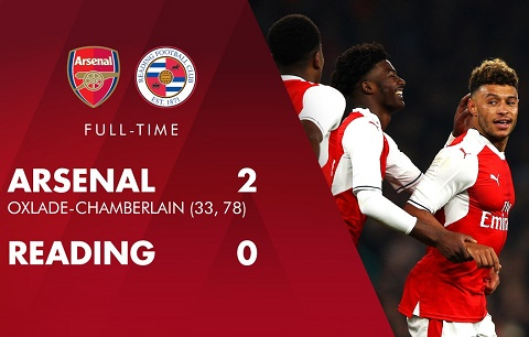 Tong hop Arsenal 2-0 Reading (Vong 4 cup Lien doan Anh 201617) hinh anh