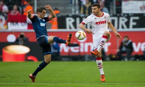 Nhan dinh Cologne vs Hoffenheim 01h45 ngay 2710 (Cup QG Duc 201617) hinh anh