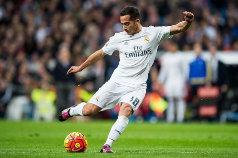 Arsenal hoac Liverpool sap co tien ve Lucas Vazquez hinh anh 2