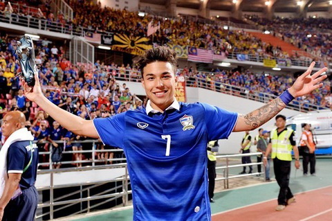 DT Thai Lan bo sung ngoi sao Chappuis cho AFF Cup 2016 hinh anh
