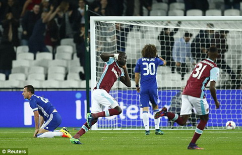Tong hop West Ham 2-1 Chelsea (Vong 4 Cup Lien doan Anh 201617) hinh anh