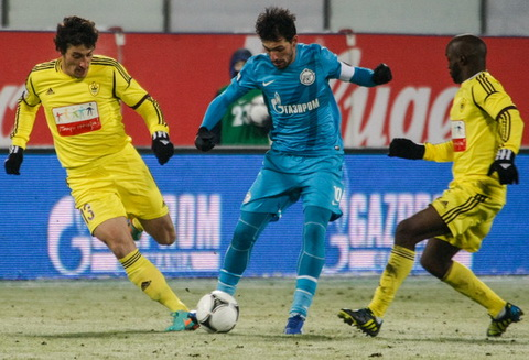 Nhan dinh Anzhi vs Zenit 22h00 ngay 2710 (Cup QG Nga 201617) hinh anh