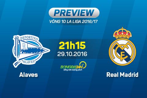 Alaves vs Real Madrid (21h15 ngay 2910) Cho BBC bung no tro lai hinh anh