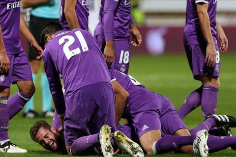 Zidane Ban thang cua Nacho dep hon ca cua toi hinh anh