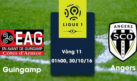 Nhan dinh Guingamp vs Angers 01h00 ngay 3010 (Ligue 1 201617) hinh anh