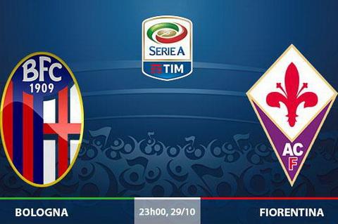 Nhan dinh Bologna vs Fiorentina 23h00 ngay 2910 (Serie A 201617) hinh anh