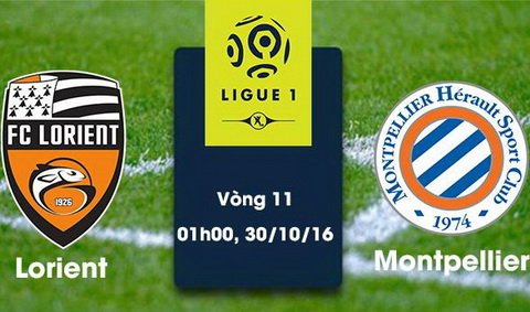 Nhan dinh Lorient vs Montpellier 01h00 ngay 3010 (Ligue 1 201617) hinh anh