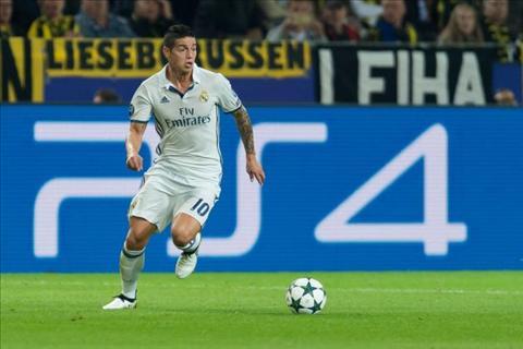 Chi 85 trieu euro, Inter khong the mua tien ve James Rodriguez hinh anh