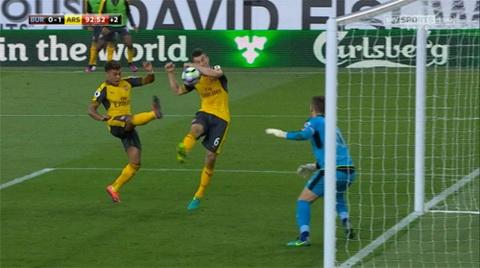 Huyen thoai Thierry Henry Ban thang cua Arsenal ro rang khong hop le hinh anh