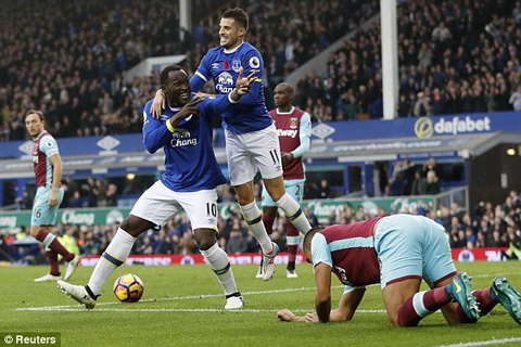 Tong hop Everton 2-0 West Ham (Vong 10 NHA 201617) hinh anh