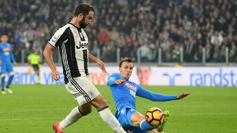 Juventus 2-1 Napoli Higuain lam dau long doi bong cu hinh anh