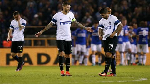Sampdoria 1-0 Inter Milan HLV De Boer lam nguy! hinh anh