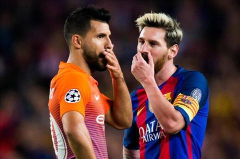 Messi bat ngo ra 'menh lenh' dac biet cho Sergio Aguero hinh anh