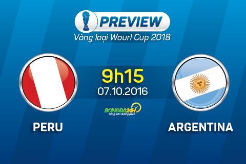 Preview: Peru - Argentina