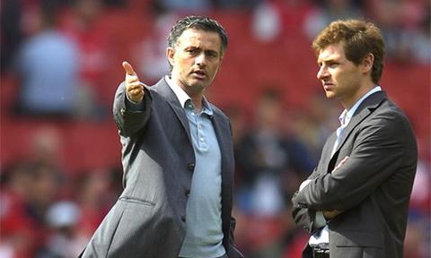 Jose Mourinho da tro mat voi cong su cu Villas-Boas ra sao hinh anh