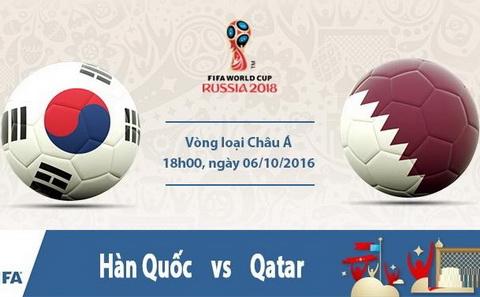 Nhan dinh Han Quoc vs Qatar 18h00 ngay 610 (VL World Cup 2018) hinh anh