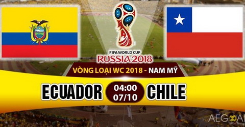 Nhan dinh Ecuador vs Chile 04h00 ngay 710 (VL World Cup 2016) hinh anh