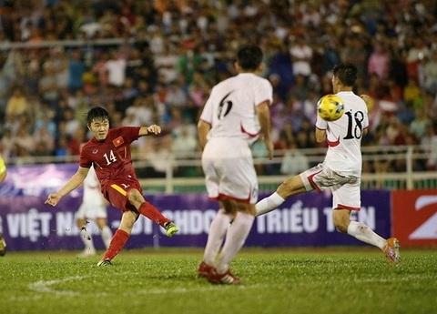 Viet Nam dai thang Trieu Tien Khi Xuan Truong sam vai Pirlo Viet Nam hinh anh
