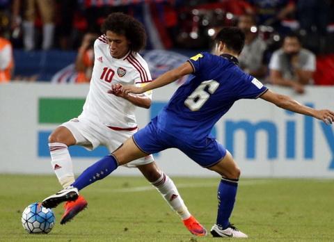 Clip ban thang UAE vs 3-1 Thai Lan Vong loai World Cup 2018 hinh anh