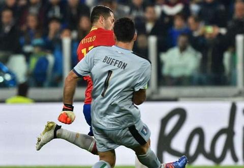 Tien dao Vitolo Toi soc khi Buffon mac sai lam hinh anh 2