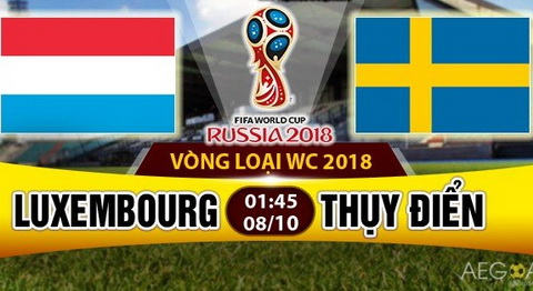 Nhan dinh Luxembourg vs Thuy Dien 1h45 ngay 810 (VL World Cup 2018) hinh anh