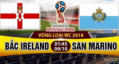 Nhan dinh Bac Ireland vs San Marino 01h45 ngay 910 (VL World Cup 2018) hinh anh
