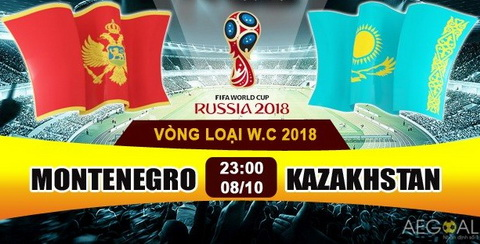 Nhan dinh Montenegro vs Kazakhstan 23h00 ngay 810 (VL World Cup 2018) hinh anh