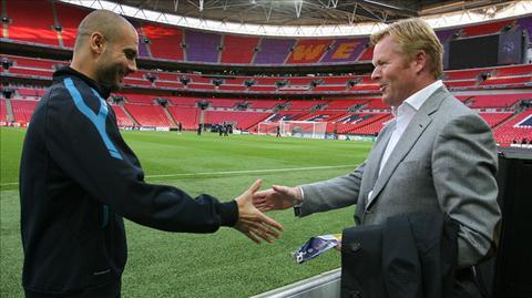 HLV Everton hoi tuong qua khu diu dat Pep Guardiola hinh anh