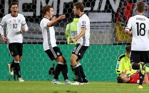 Clip ban thang Duc vs 3-0 Czech Sec Vong loai World Cup 2018 hinh anh