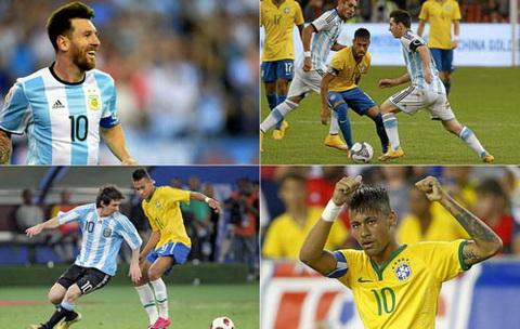 Diem lai nhung lan Messi vs Neymar doi dau tren san co hinh anh
