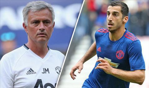 Mourinho che tien ve Henrikh Mkhitaryan thieu ban linh hinh anh
