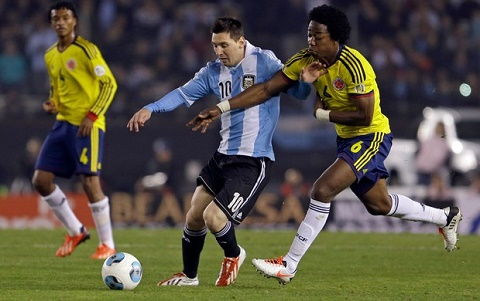 Argentina vs Colombia (6h30 ngay 1611) Trong ca vao Messi hinh anh