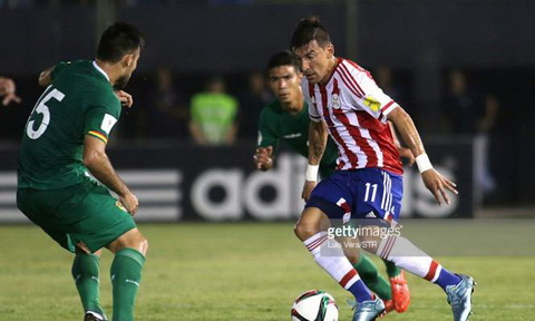 Nhan dinh Bolivia vs Paraguay 03h00 ngay 1611 (VL World Cup 2018) hinh anh