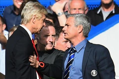 Wenger khong quan tam toi cuoc dau ca nhan voi Mourinho hinh anh
