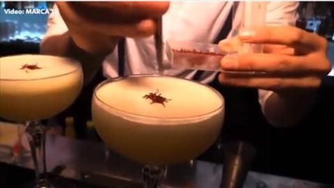 Cocktail Qua bong vang chau Au ban chay nhat khach san CR7 hinh anh 2