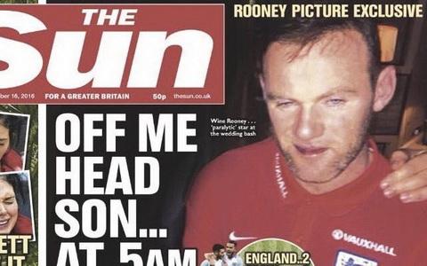 Tien dao Wayne Rooney co the mat bang doi truong vi say ruou hinh anh 2