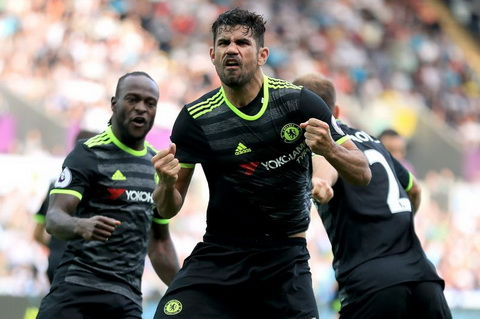 Diego Costa se la quan bai bat ngo cua Chelsea tran gap Middlesbrough.