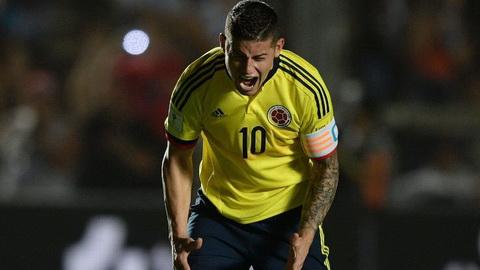 James Rodriguez dang hoc thoi xau tu Cris Ronaldo.