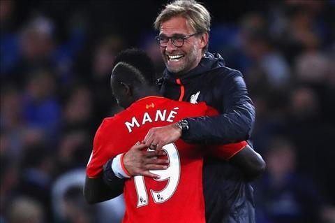 Klopp bay to hanh phuc khi co Mane trong doi hinh Liverpool  hinh anh