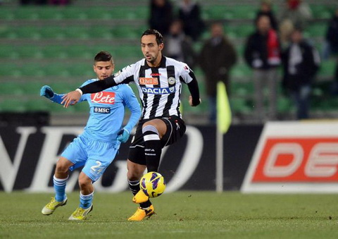 Nhan dinh Udinese vs Napoli 00h00 ngay 2011 (Serie A 201617) hinh anh