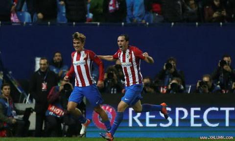 11 ban - Antoine Griezmann (2014 - nay): Cau thu nguoi Phap dang la chan sut tot nhat cua Atletico Madrid thoi diem hien tai. Voi viec da chac suat vuot qua vong bang, Griezmann hoan toan co the xac lap thanh tich lam ban tot hon o dau truong chau Au