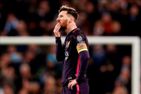 HLV Enrique len tieng ve tinh trang suc khoe cua Messi hinh anh