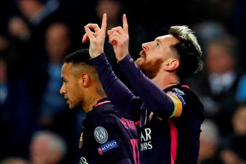 Messi chinh thuc vuot qua ky luc cua Chua nhan Raul hinh anh